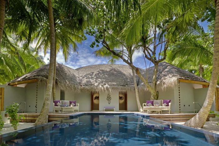 3 nights in Water Villa with Pool of Dusit Thani Maldives for Middle East LS